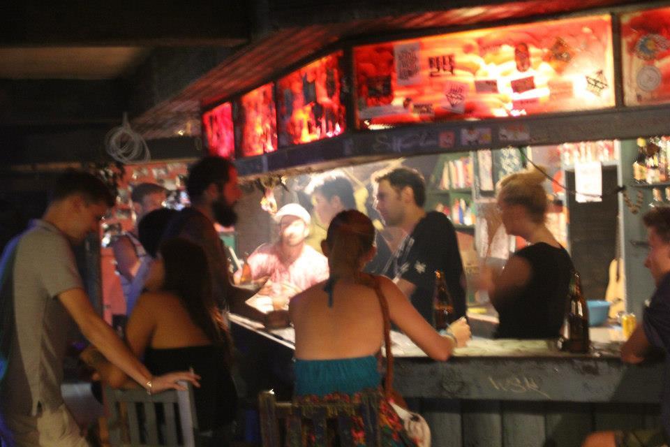 Vibrant venue and bar open 24/7