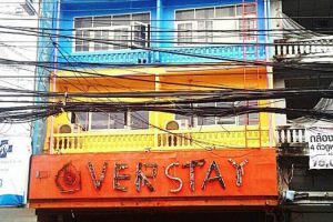 front of the overstay